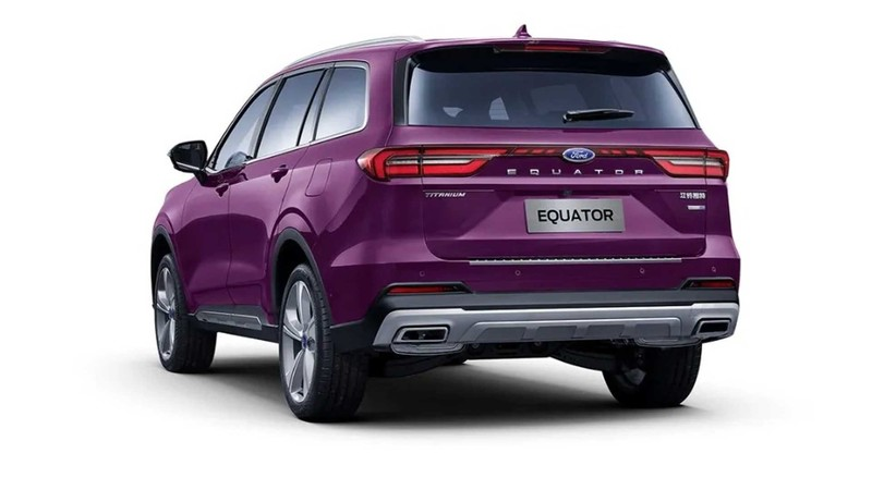 看內裝還以為是賓士?《Ford Equator》搶攻6人座休旅市場 3月28日中國上市