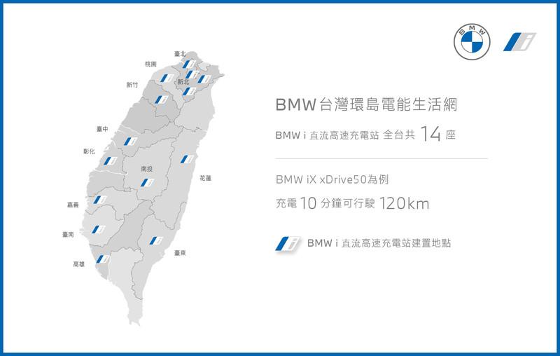 《汎德》預計年底前建置全台14座《BMW i直流高速充電站》|《BMW iX與i4》即將抵台