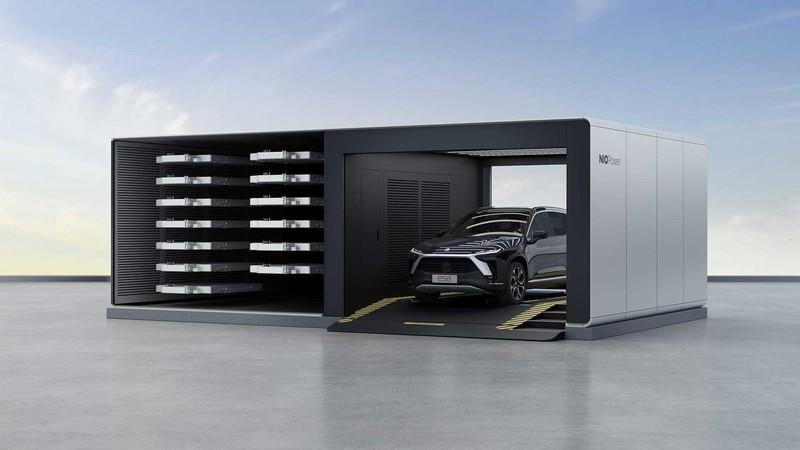 獨家技術《3分鐘全自動電池交換站》進軍挪威《NIO蔚來電動車》歐洲佈局嚴謹
