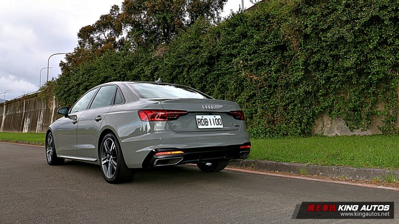 《Audi A4 45 TFSI quattro S line》小改款試駕︱還是智慧四驅更對味!