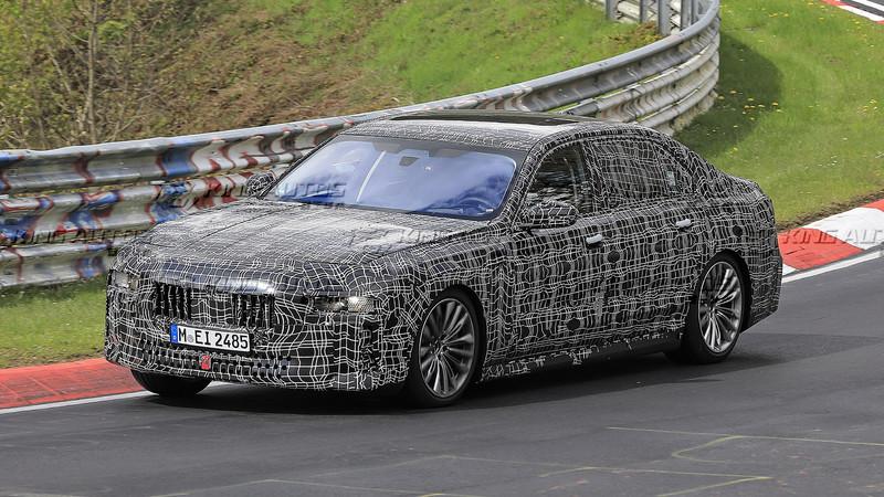 還會有大鼻孔水箱護罩嗎?!全新大改款《BMW 7 Series》預計下半年亮相