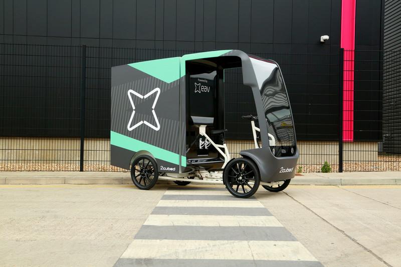 《電動車》改用《氫燃料電池》更環保!EAV 2Cubed氫動力微型貨車即將上路