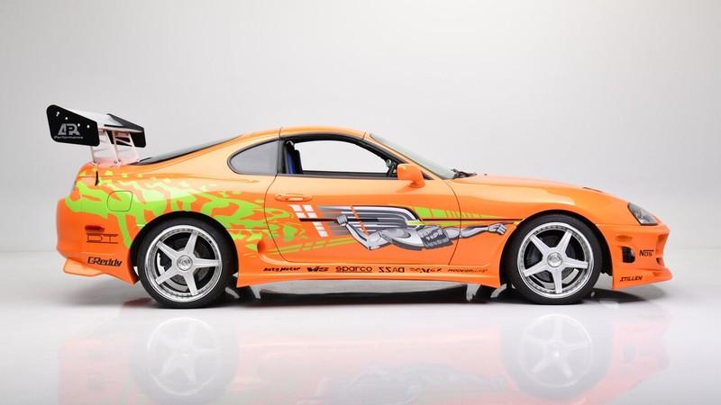 曾參與電影《玩命關頭》演出的《Toyota Supra》下個月將拍賣
