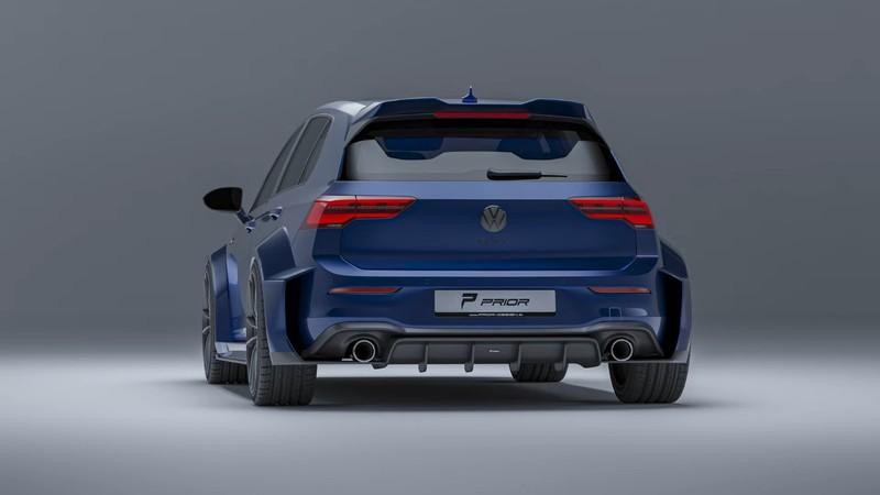 大改款《Volkswagen Golf GTI》快來了 《Prior Design》幫你準備了銷魂的寬體套件
