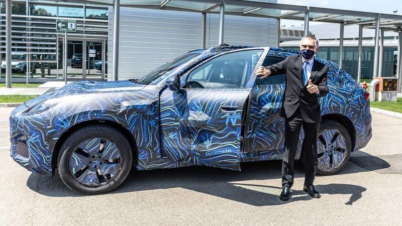 《Maserati》釋出《Grecale》高清偽裝照 看起來就像小一號的《Levante》