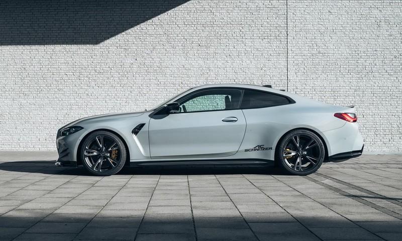這輛《BMW M4》有點不一樣 《AC Schnitzer》推出空力套件等週邊改裝品