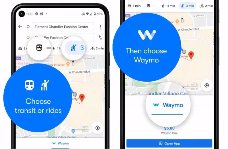 iOS用戶不要看!無人駕駛計程車《Waymo》提供Google Maps叫車服務 首波鎖定Android用戶