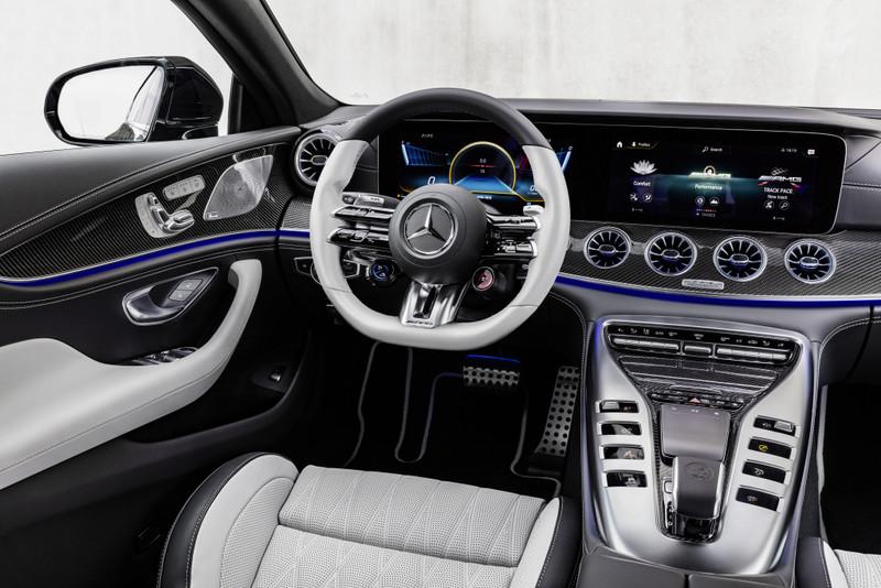 新年式《Mercedes-AMG GT 4-Door Coupé》發表 懸吊重新調校 內裝客製化程度更高