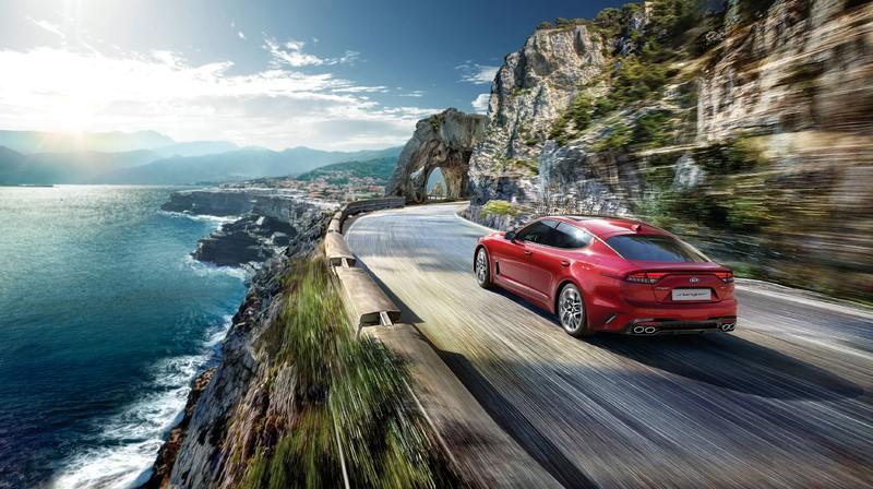 《Lexus IS》勁敵登台!《Kia Stinger》148.9萬起展開預售接單 全車系標配Level 2