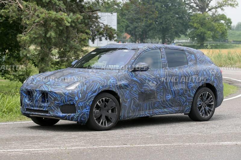 捕獲小一號的海神休旅 《Maserati Grecale》可望搭載2.0輕油電及3.0雙渦輪動力