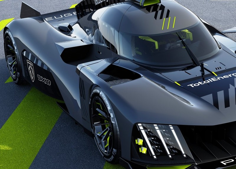 《Peugeot》發表全新《9X8》賽車 取消尾翼 換上全新動力系統 重返明年耐力賽