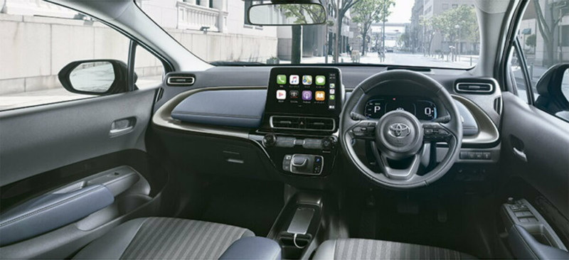油電版Fit的未來對手?日規《Toyota Prius c》提前流出大改款模樣 售價也同步揭露