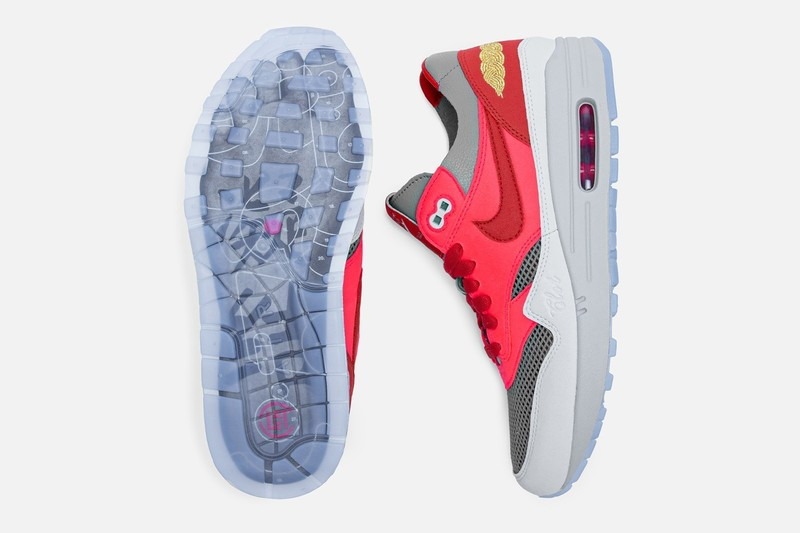 「死亡之吻」復刻版 CLOT x Nike Air Max 1聯名新配色《K.O.D. Solar Red》開賣日就在這天!