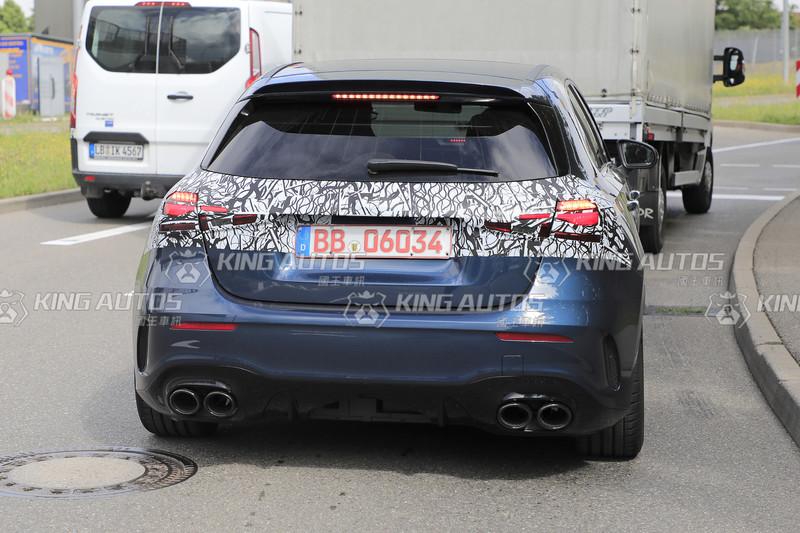 不讓RS 3專美於前  最強四缸市售鋼炮《Mercedes-AMG A 45》即將改頭換面