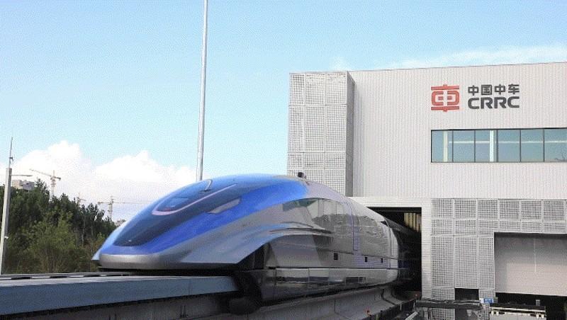 地表最速地面交通工具登場!中國全新出廠《磁浮列車》時速達600公里 從北京到上海只要2.5小時?