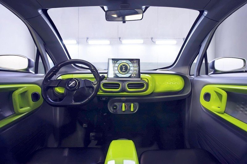 台幣26萬、電池交換、僅57個組件《XEV YOYO》3D列印電動車 有冷暖氣空調 今年上市(一)