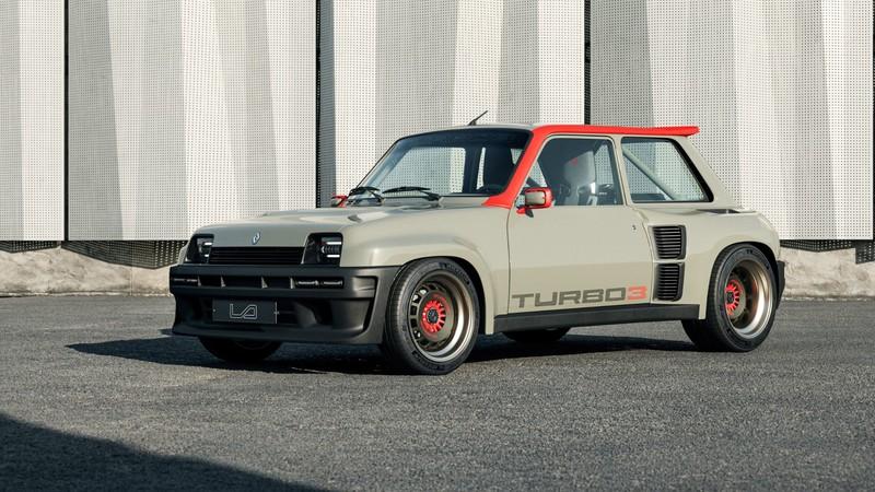 中置後驅小鋼炮重生!《Renault 5 Turbo 3》全車翻新、輸出上看400匹