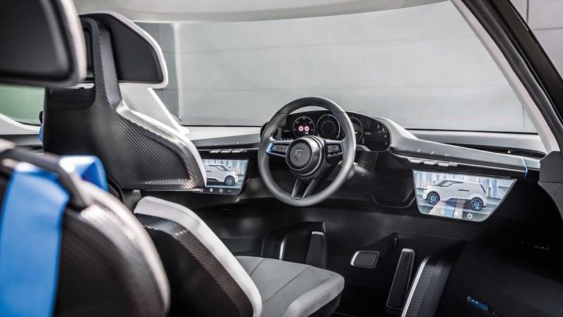 這款6人座跟你想得不一樣!電動廂型概念車《Porsche Vision Renndienst》內裝曝光 揭示品牌未來設計