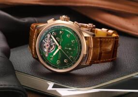末代稀有陀飛輪《Breitling》異業合作《Bentley》最後一款聯名腕錶