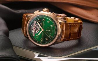 末代稀有陀飛輪《百年靈Breitling》異業合作《Bentley》最後一款聯名腕錶