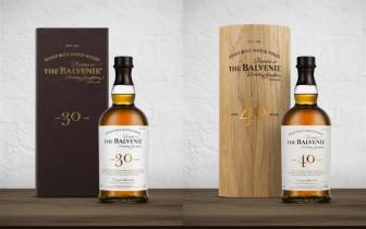 最後收藏機會只剩今年!《The Balvenie 百富 30 年、40 年高年份威士忌》經典包裝將絕版