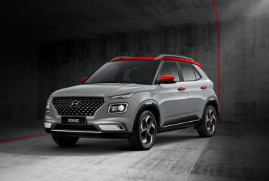 《Hyundai Venue》推出格雷灰限量新車色  71.9萬起僅限GLB雙色款以上車型