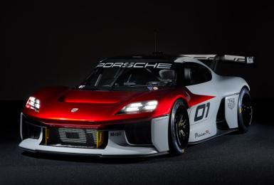 未來電動賽車長這樣《Porsche Mission R》概念車 還蠻帥的!