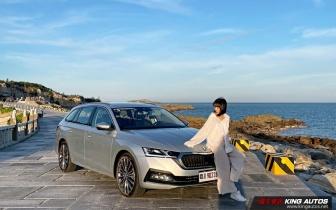 小公主上路︱大改款《Škoda Octavia Combi》四驅科技旅行車,只做超越級距的品質—內外裝配備篇