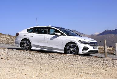 續航里程700公里 略勝《M-Benz EQE》純電《Volkswagen Arteon》預計2023年問世