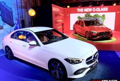 大改款《Mercedes-Benz C-Class》雙車型齊發 建議售價210萬元起|品牌首個電氣化車系 車內布局高科技