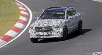大改款《Mercedes-Benz GLC》最快年底海外發表 姿態更低趴 並傳出將新增七人座車款