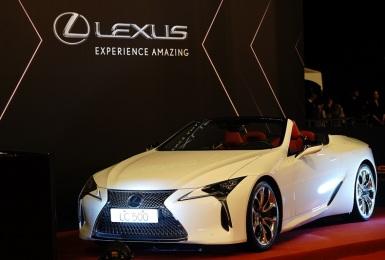 《Lexus LC》為台灣第56屆金鐘獎增添光彩 日本推出新年式車款