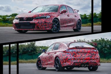 不改狂妄本色!《Honda》釋出新世代《Civic Type R》偽裝照、預告明年發表