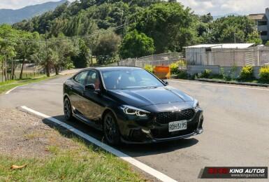 《BMW M235i xDrive Gran Coupe Black Storm Edition》試駕報導|黑化的酷 限量的殘酷