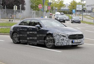 小改款《Mercedes-Benz A-Class房車》最快年底海外發表|逃過全車系電氣化 外觀微幅調整