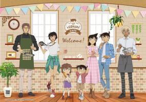《名偵探柯南》x《MyAnime Café》10月15日登場!美味餐點、限定特典、特色周邊等你來品嚐和收藏