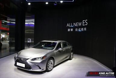 【現場直擊】小改款《Lexus ES》171萬元起 全車系升級觸控式螢幕 運動化車款標配19吋鋁圈
