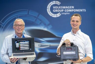 電動車的電池何去何從?《Audi X 福斯集團》研發《BattMAN ReLife》電池檢測系統 分析回收或是再製造