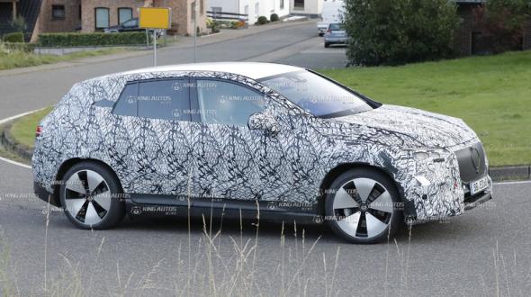 首次曝光《Mercedes-Benz EQE SUV》預計2022年發表|電動車專用平台打造 與EQE共享動力系統