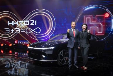 郭台銘現身力挺 鴻海三款電動車正式亮相 售價有望百萬內 續航里程700公里 將於《納智捷》首發
