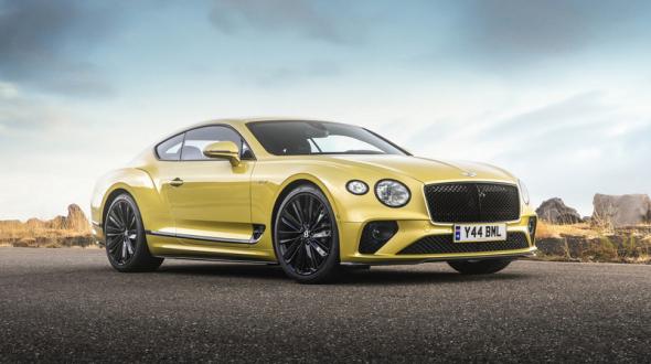 力與美的結合 全新《Bentley Continental GT Speed》現身台北國際藝術博覽會