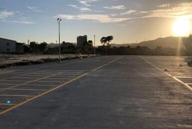 泰山塭仔圳《平面停車場》明起開放:汽車採每4小時計次收費、機車免費,共494格汽機停車位